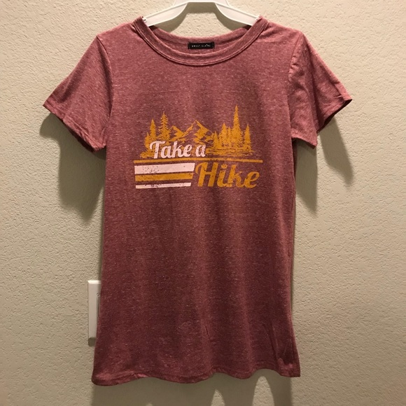 2cd2d086 Brand New women's TAKE A HIKE Lake Mountain Tee. Boutique. Sweet Claire